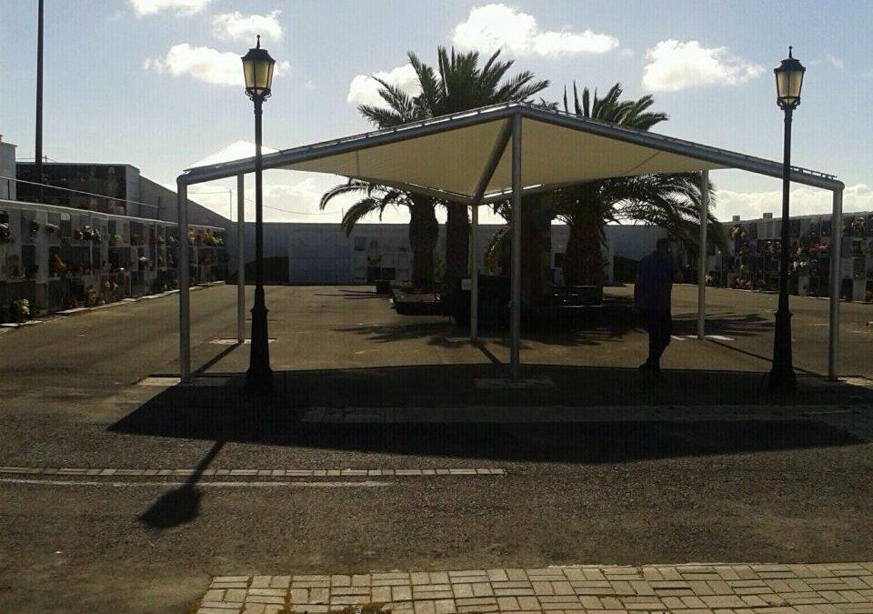 Nueva zona de sombra para el cementerio de Zurita