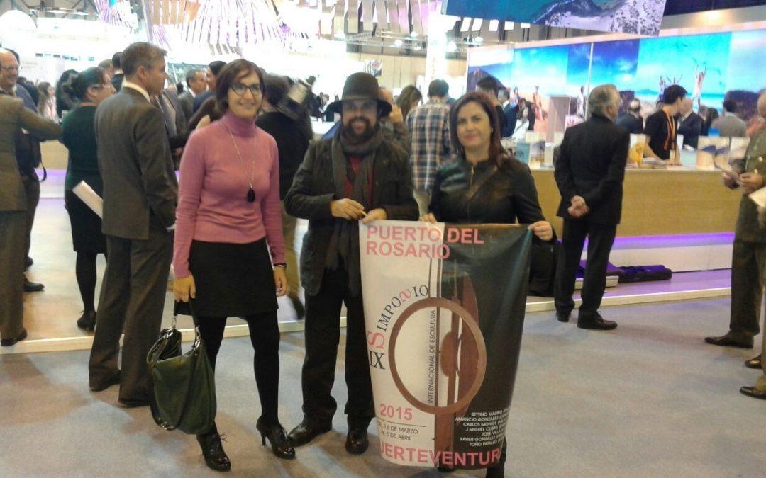Se presenta el IX Simposio Internacional de Escultura en Fitur 2015