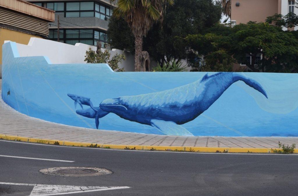 Urbanismo continúa con su campaña de restauración de murales