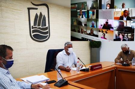 Pto. pide crear un Plan Territorial que regule las infraestructuras energéticas en la isla