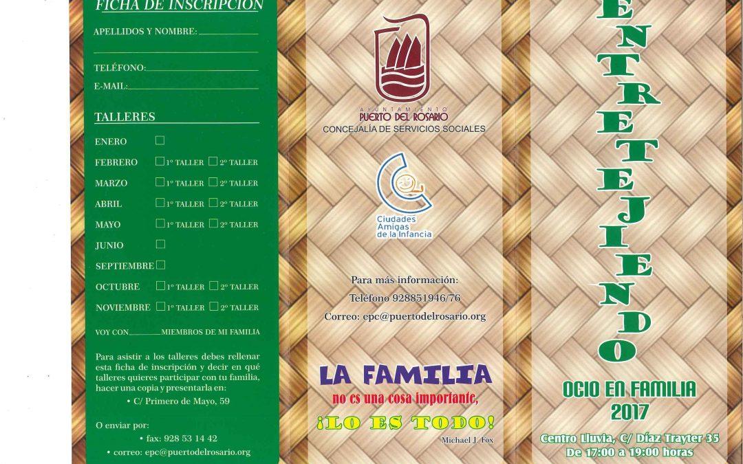 Acto de Presentación del programa de ocio familiar «Entretejiendo»