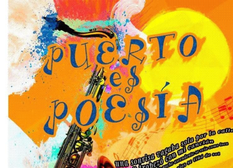 Presentación en el «Bar Candela» de una nueva edición de «Puerto es Poesía»