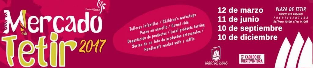 Nueva cita con el Mercado Artesanal de Tetir este domingo, 11 de junio