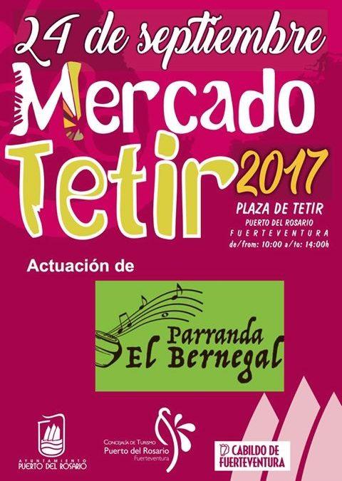 Mercado artesanal en Tetir, este domingo 24 de septiembre