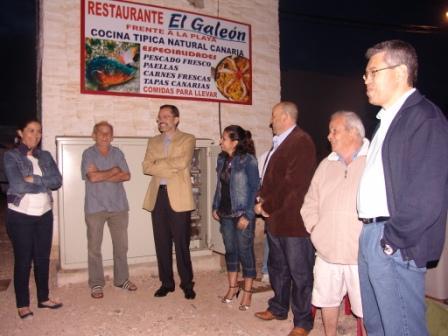 PUERTO LAJAS MEJORA SUS INFRAESTRUCTURAS  CON EL NUEVO ALUMBRADO
