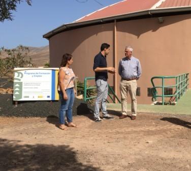 El PFAE «Puerto más verde» trabaja en la zona de Tetir de Puerto del Rosario