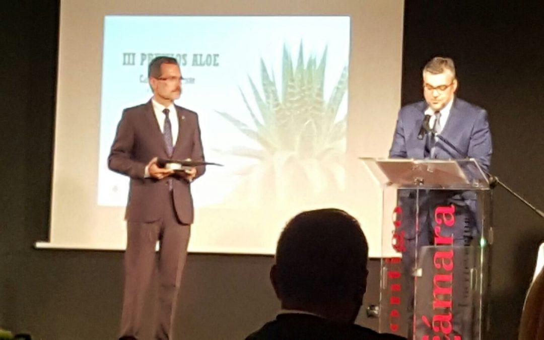 El Ayuntamiento recoge un nuevo «Premio Aloe» por su trabajo en sostenibilidad
