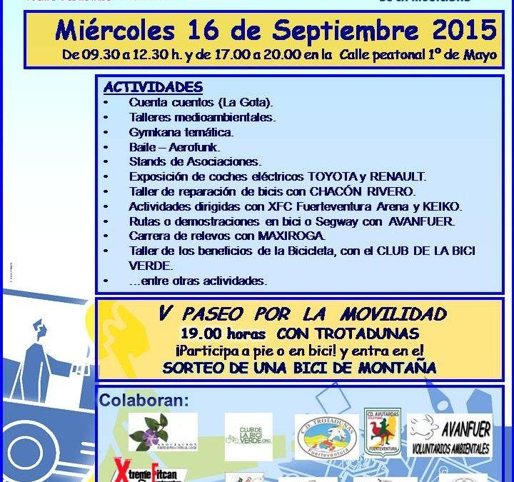 El Ayuntamiento impulsa, un año más, las actividades del «Día sin coche»