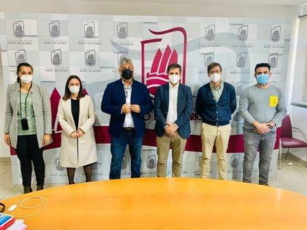 Visita al municipio de los representantes en Canarias de Ciudadanos