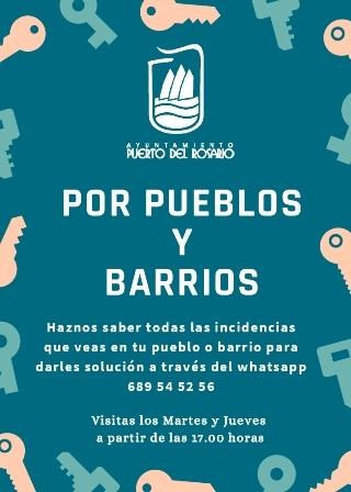 El Ayuntamiento de Puerto del Rosario pone en marcha el proyecto 'Por Pueblos y Barrios'