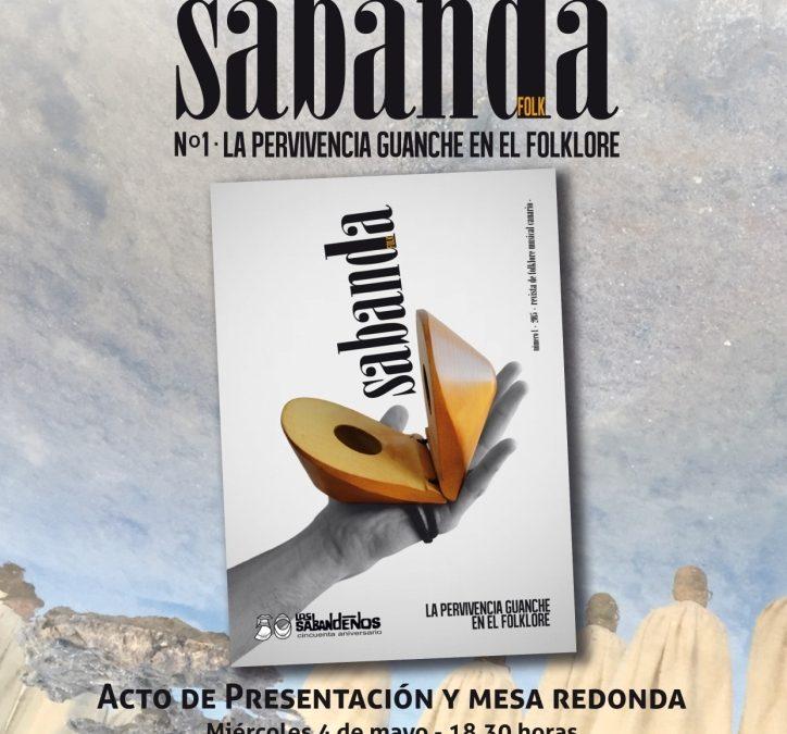 Presentación de la revista «Sabanda Folk», una iniciativa de Los Sabandeños