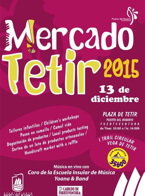Mercado Artesanal de Tetir, este domingo, 13 de diciembre