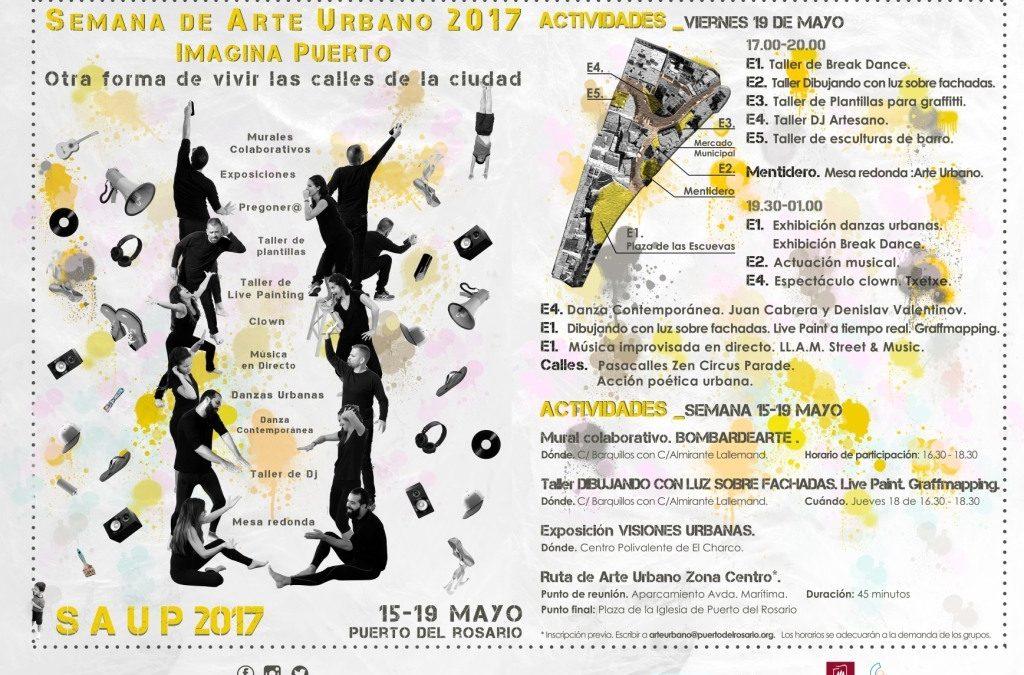 Presentación de la III Semana de Arte Urbano