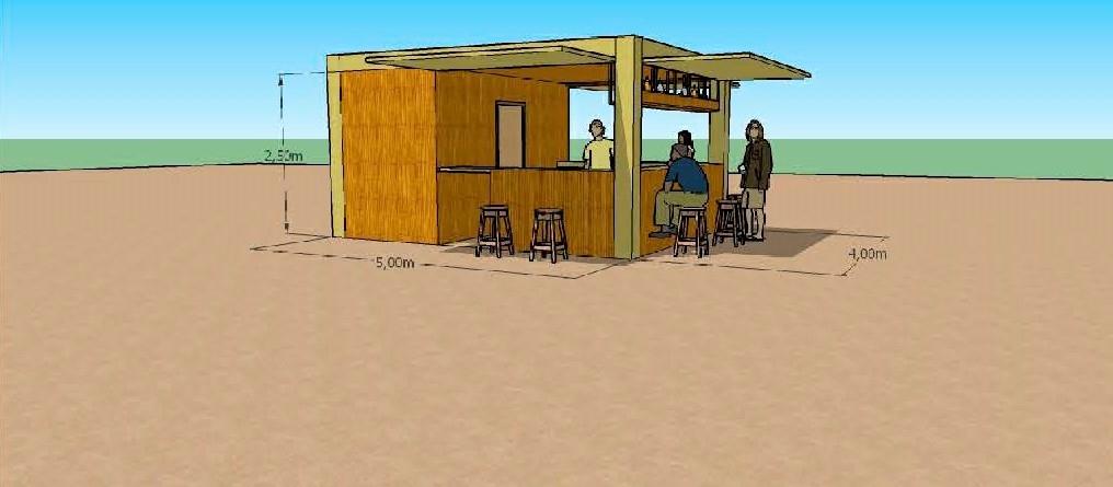 Puerto del Rosario firma el contrato para la instalación de quioscos, hamacas y sombrillas en Playa Blanca