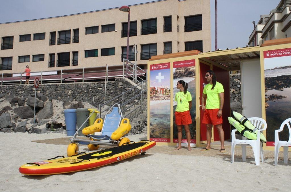 Publicado el nuevo anuncio de licitación para el servicio de vigilancia de Playas