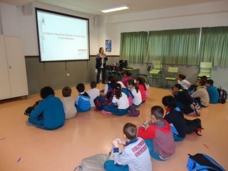Finaliza el Taller en los centros de primaria sobre la violencia de género