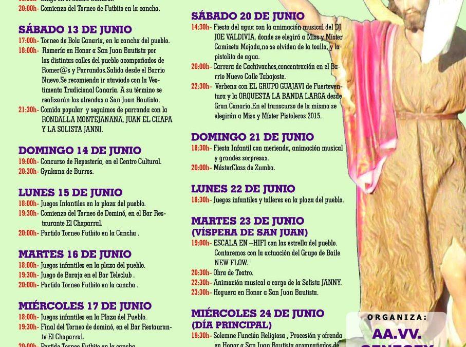 Fiestas de El Matorral 2015