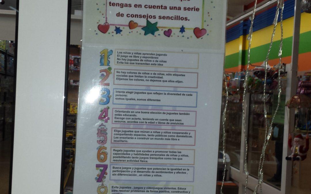 Campaña para regalar juguetes no sexistas