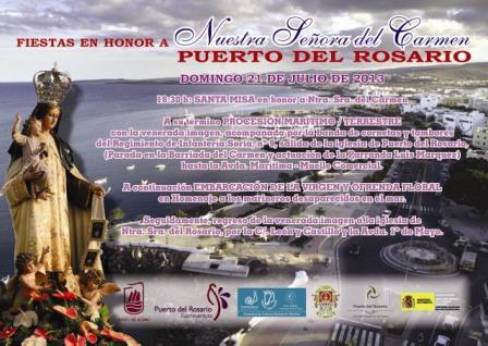 LA PROCESIÓN DE LA VIRGEN DEL CARMEN, ESTE DOMINGO, 21 DE JULIO, EN LA CAPITAL.