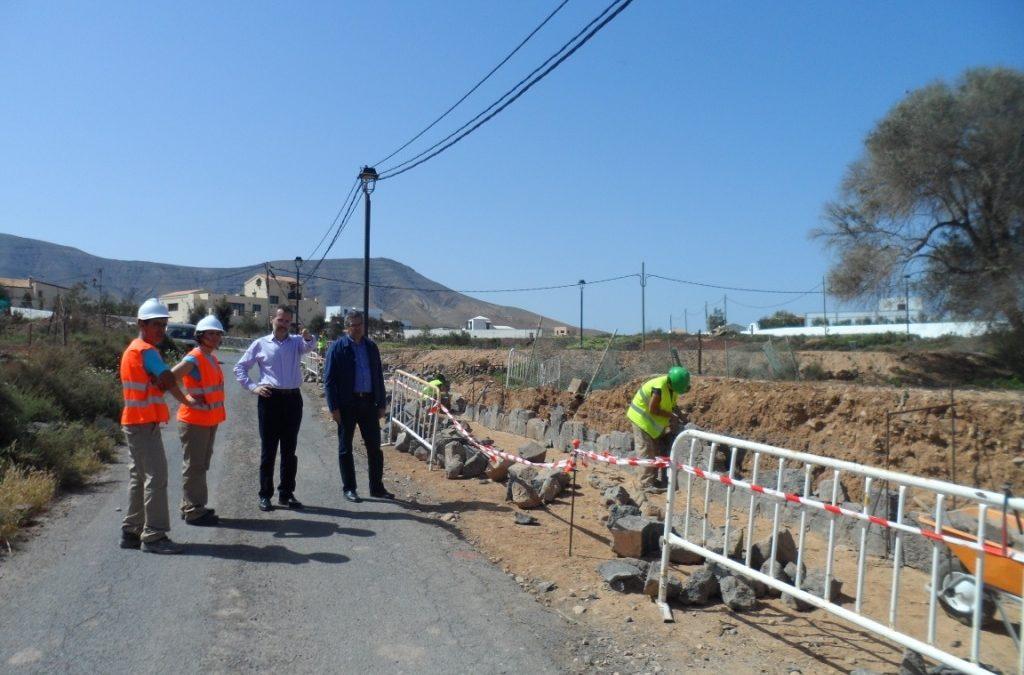 Primeras actuaciones del Programa de Empleo «Puerto Construye»