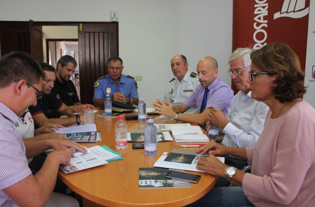 Coordinación de efectivos y Plan de Seguridad durante las Fiestas
