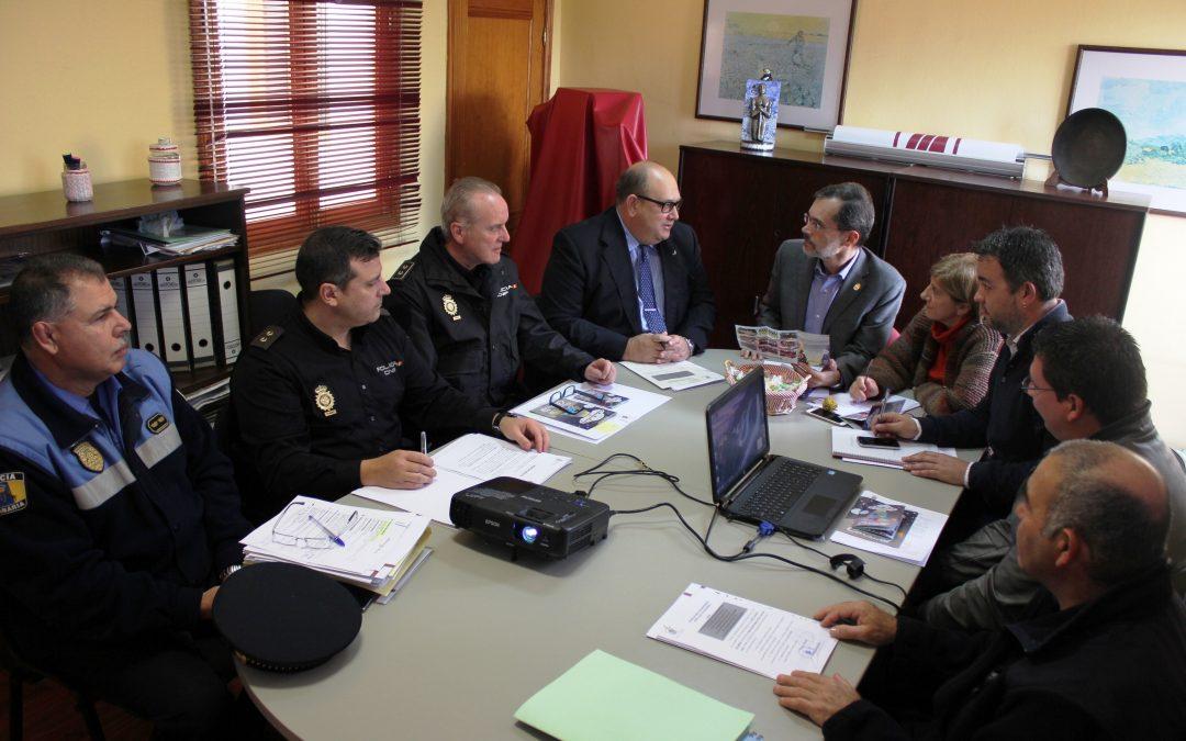 Junta local de Seguridad para coordinar el dispositivo durante los carnavales