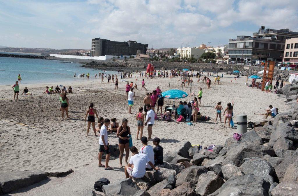 La playa de los Pozos, abierta al público desde hoy viernes, 4 de noviembre
