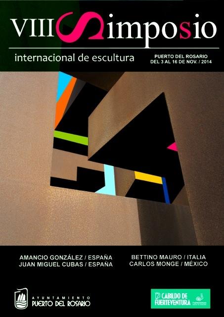 Presentación del VIII Simposium Internacional de Escultura