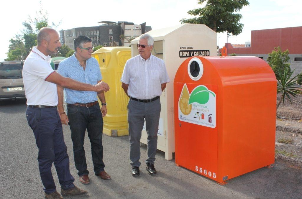 30 Nuevos contenedores para la retirada del aceite de uso doméstico
