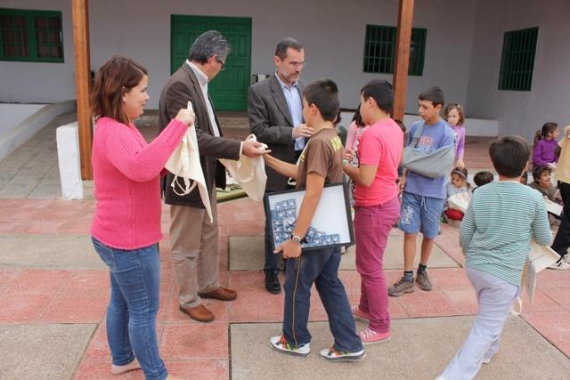 Jóvenes científicos en Ampuyenta