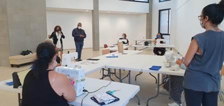 Comienzan los talleres de costura y almazuelas en la Casa de la Cultura de Puerto del Rosario