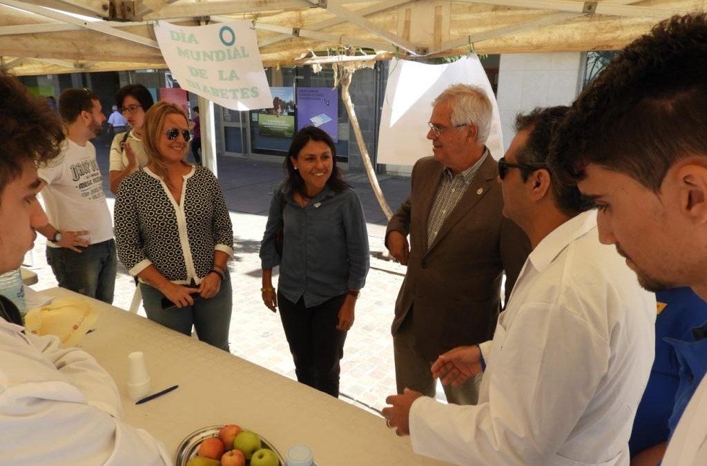 El Ayuntamiento participa en las actividades del Día Mundial de la Diabetes