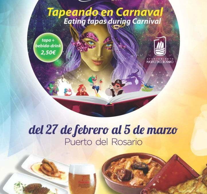 27 establecimientos secundan la iniciativa «Tapeando en Carnaval»