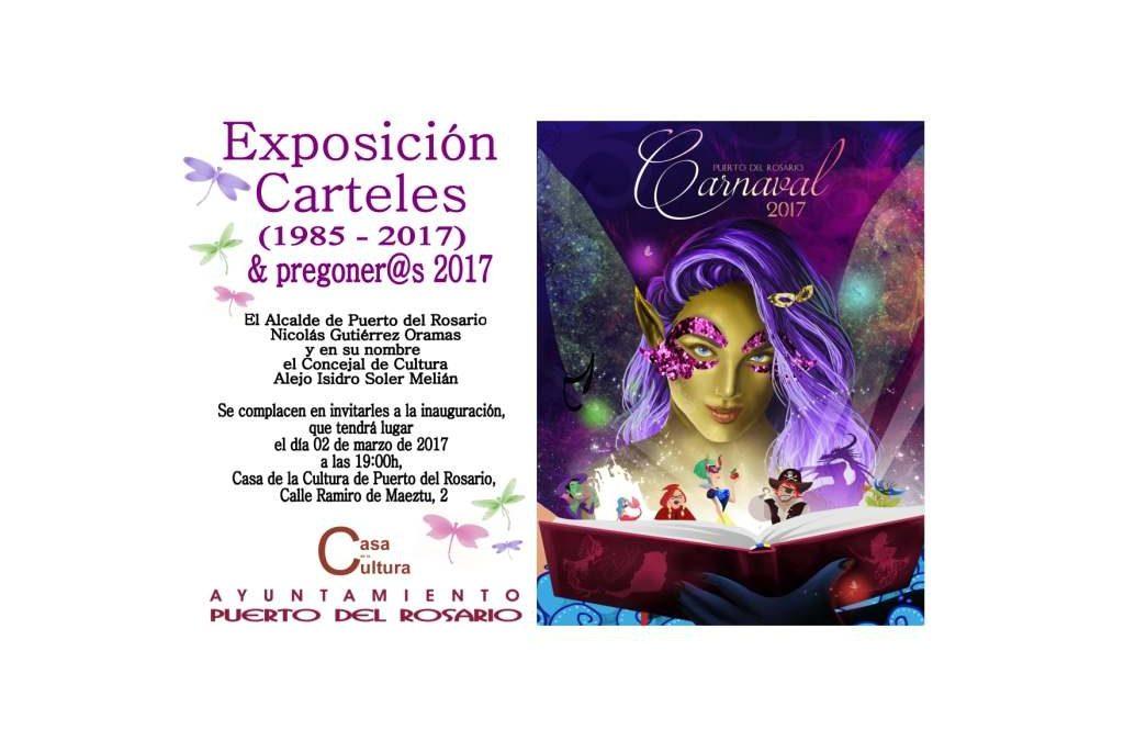Más de treinta años de carteles de los Carnavales de Puerto