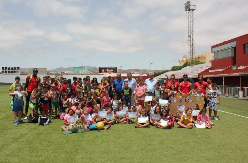 Clausura del tercer turno de las Escuelas Deportivas de Verano