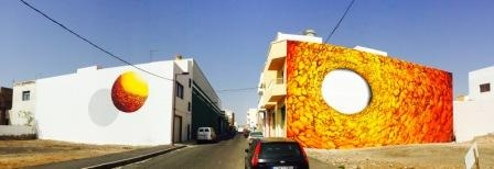 Nuevos murales en Puerto del Rosario