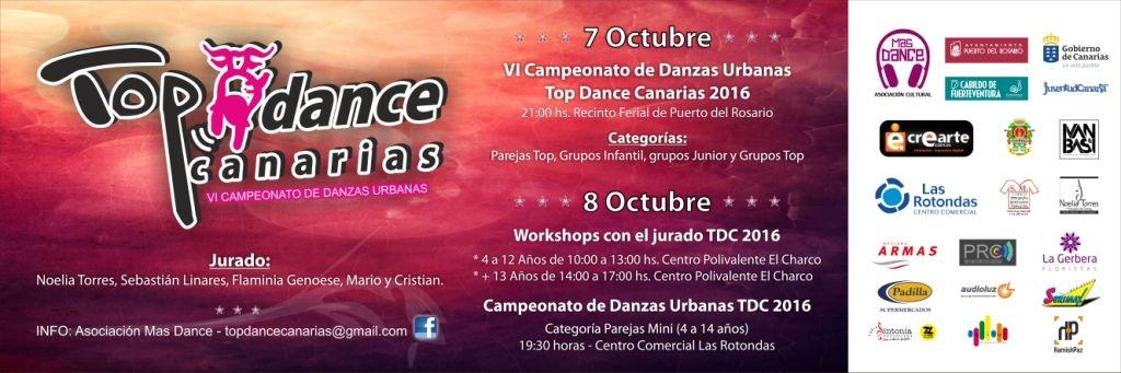 Presentación del VI Campeonato de Danzas Urbanas «Top Dance Canarias»