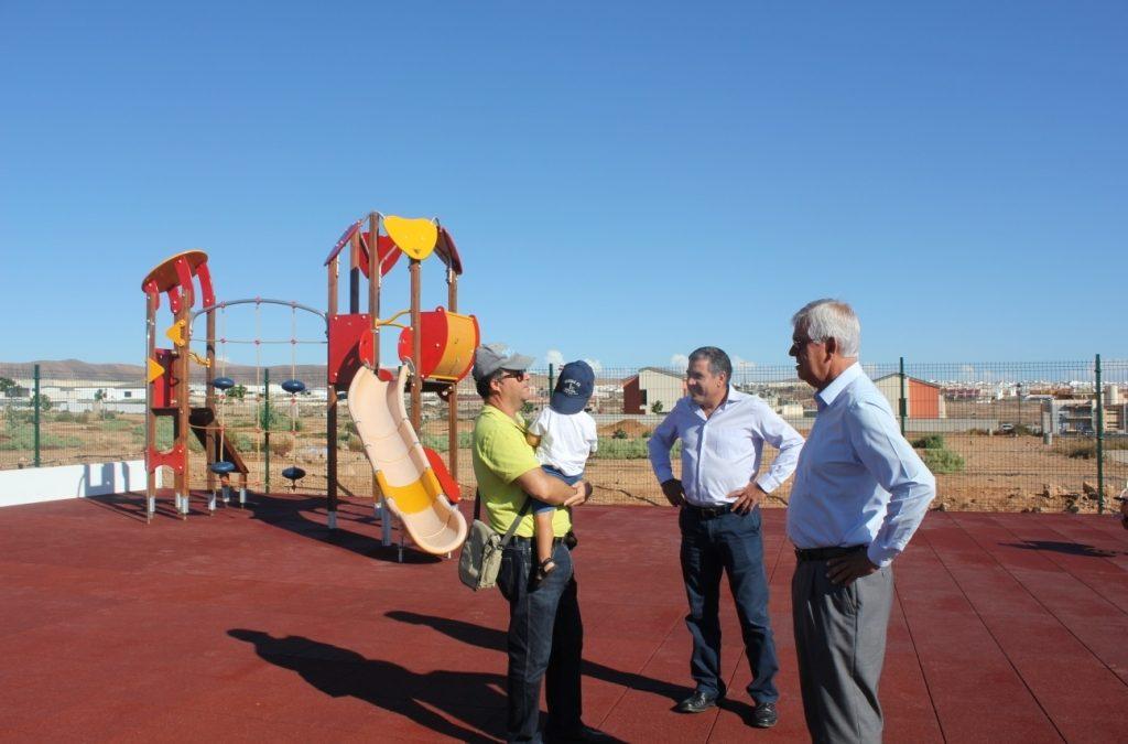 Nuevo parque infantil para «Las Granadas»
