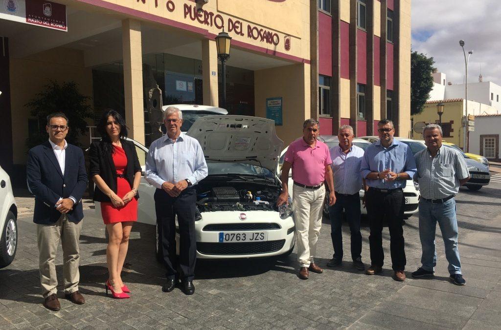 Seis nuevos vehículos para gestión y coordinación municipal