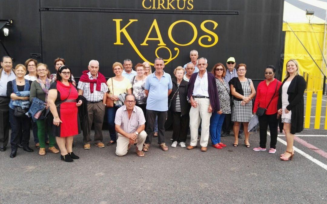 Nuestros mayores disfrutan del circo