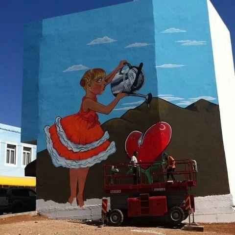 Puerto del Rosario se viste de murales