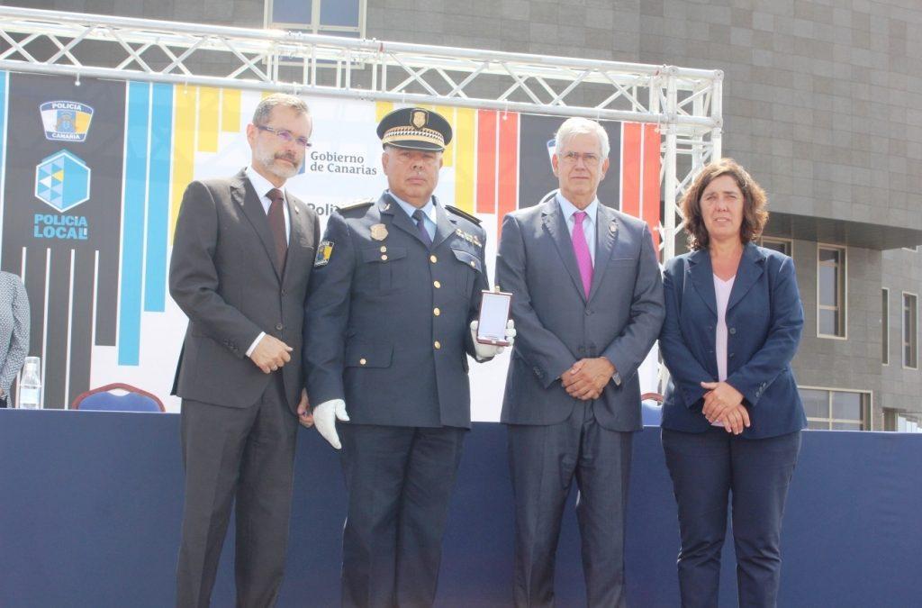 Puerto del Rosario acoge el acto del Día de la Policía Canaria