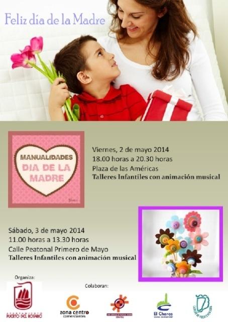 Puerto celebrará este fin de semana el Día de la Madre