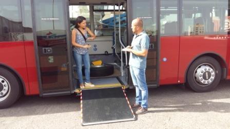 Nueva guagua para el transporte urbano de Puerto del Rosario