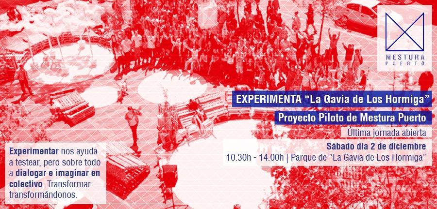 Ultima jornada «EXPERIMENTA» La Gavia de Los Hormiga