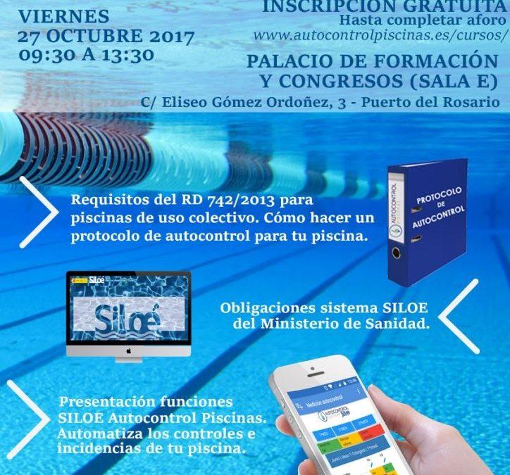 Jornadas formativas sobre normativa en piscinas de uso colectivo