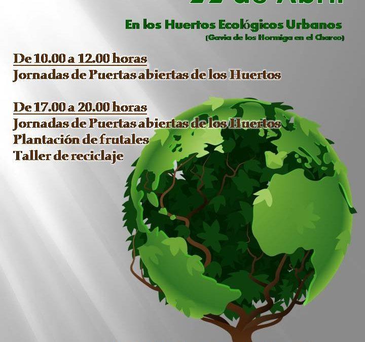 Actividades en los Huertos Urbanos con motivo del Día de la Tierra