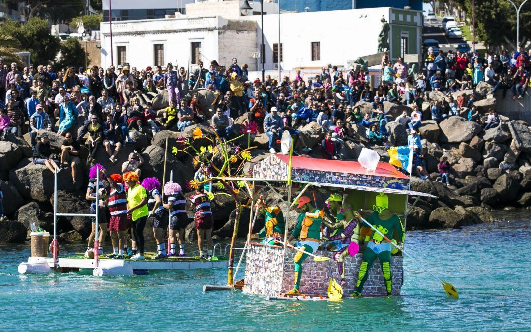 Primer fin  de semana «frenético» en el carnaval capitalino