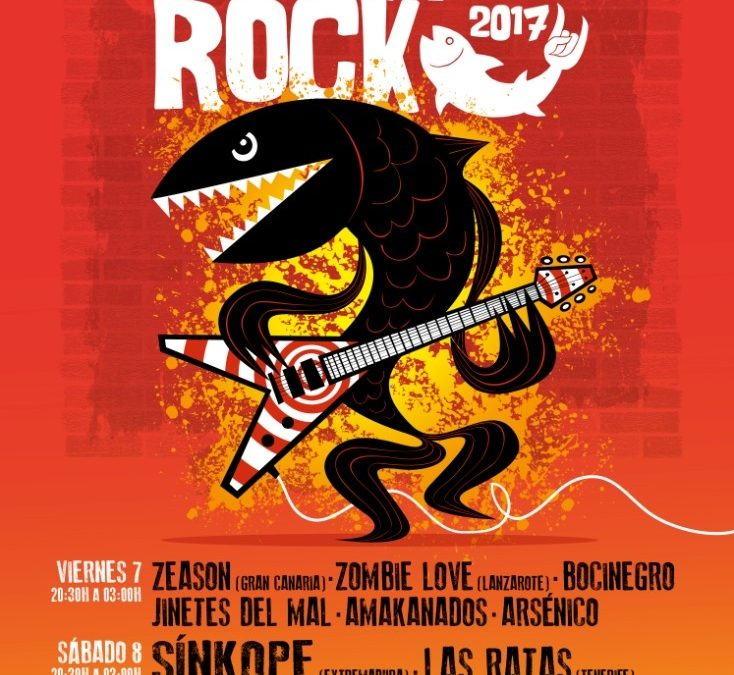 12 bandas en Lebrancho Rock 2017 los próximos 7 y 8 de abril