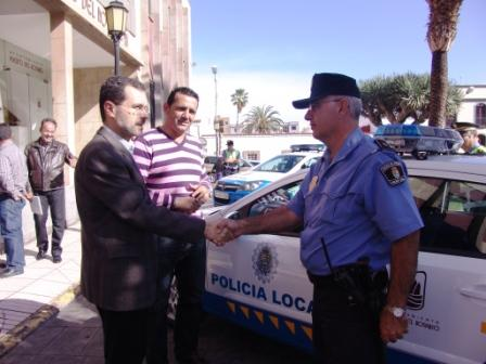 DOS NUEVOS VEHÍCULOS PARA LA POLICIA LOCAL CAPITALINA